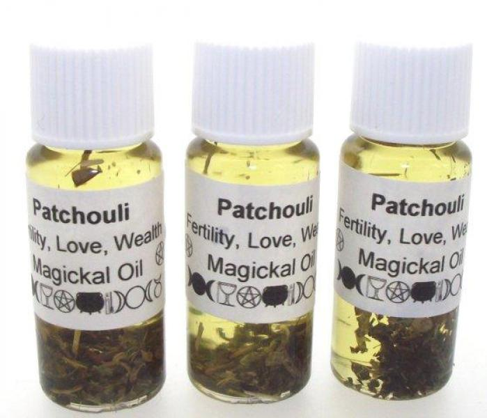 Patchouli Magickal 10ml Oil Fertility, Love, Wealth