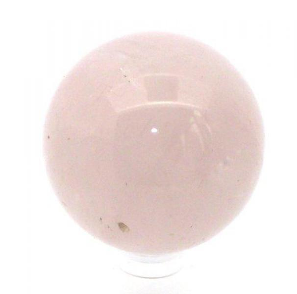 Rose Quartz Polished Sphere Crystal Gemstone