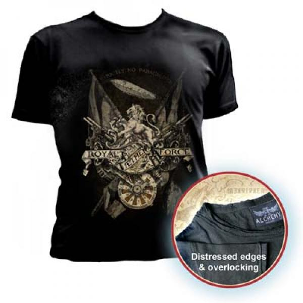 Royal Aether Force Mens Fitted T Shirt