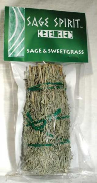Sage And Sweetgrass Smudge Stick
