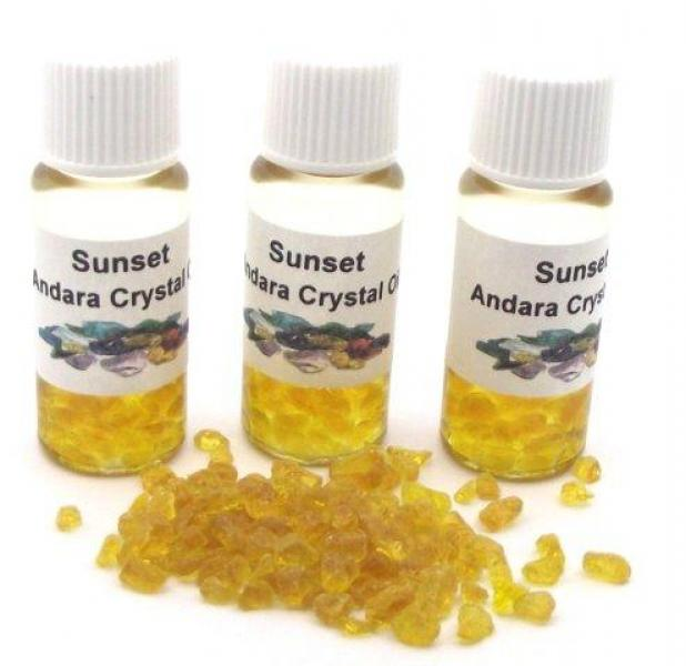 Sunset Andara Crystal Infused Oil with COA