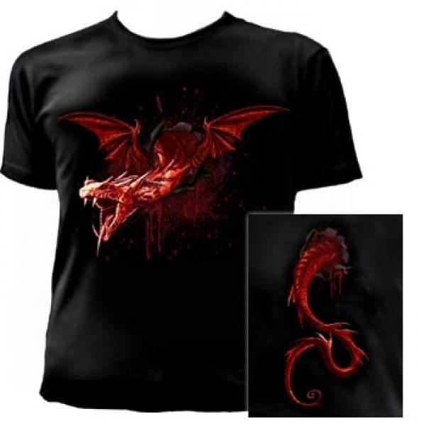 The Devil 's Travails Men'S Fitted T-Shirt