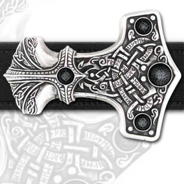 Thunder Hammer Belt Buckle