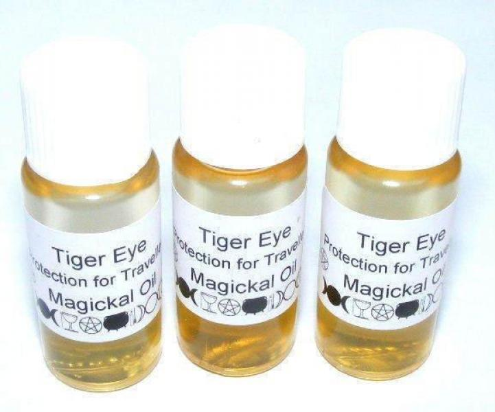 Tigers Eye Gemstone Oil Protection for Travellers