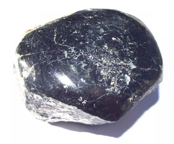 Top Polished Black Tourmaline Gemstone Specimen 6