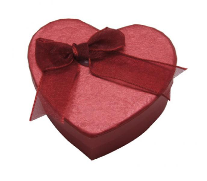 St Valentines Day Red Love Heart Gift Box