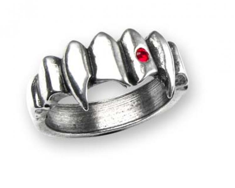 Vamp Ring - Alchemy Gothic Pewter Ring
