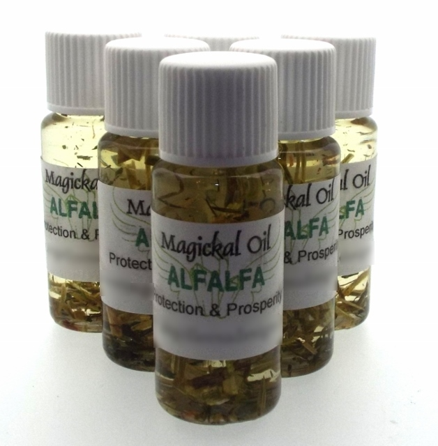 Alfalfa Spell Oil Protection And Prosperity
