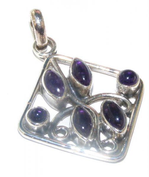Amethyst Eclectic Pendant