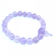 Amethyst Gemstone Crystal Power Bracelet