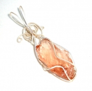 Andara Crystal Wire Wrapped Pendant 2