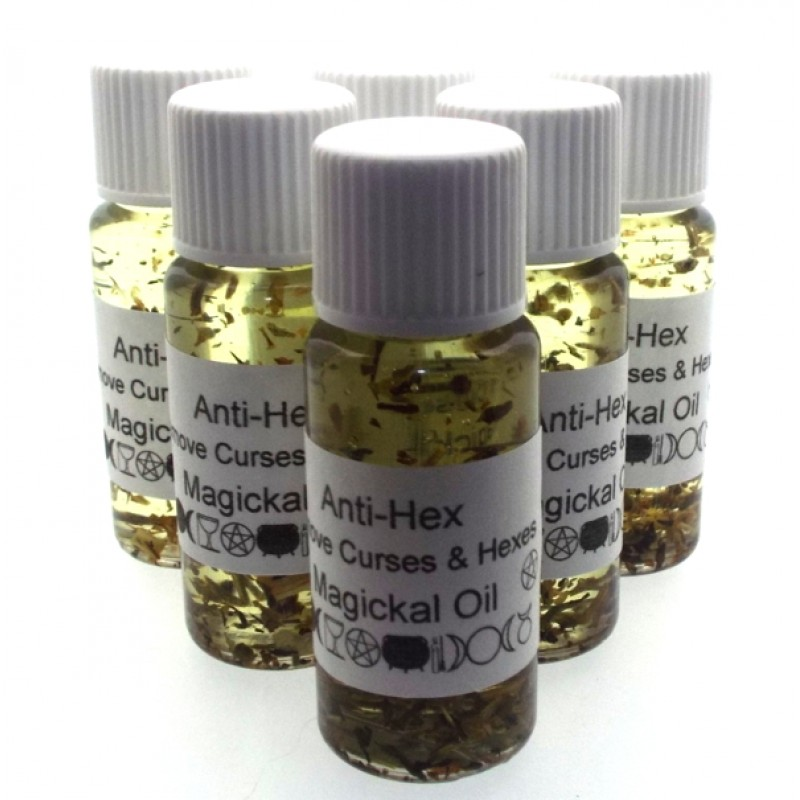Anti-Hex Curse Anointing Oil