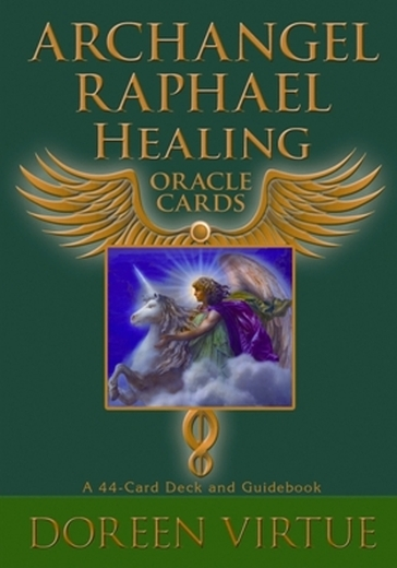 Archangel Raphael\'s Healing Oracle Cards