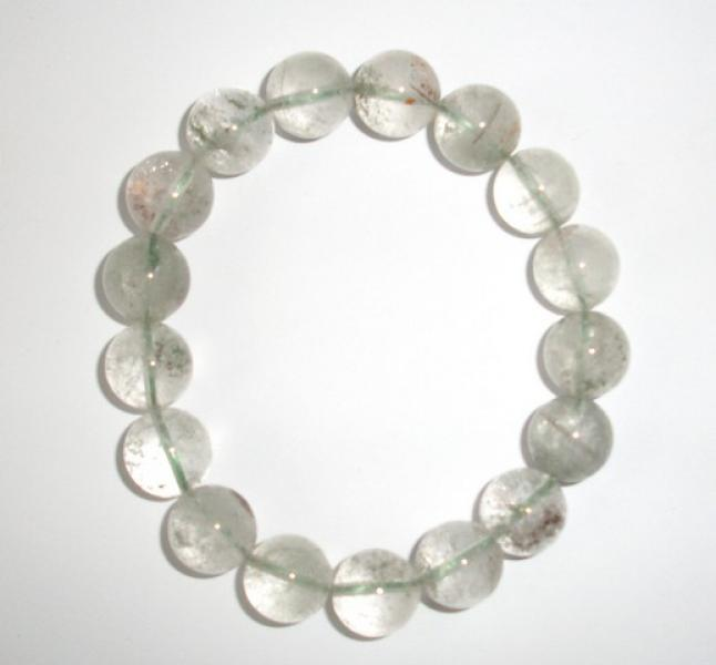 Tourmalated Quartz 16mm Gemstone Power Bracelet