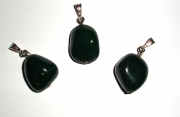 Bloodstone Tumbled Gemstone Pendant