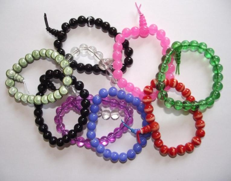 Glass Power Bracelets