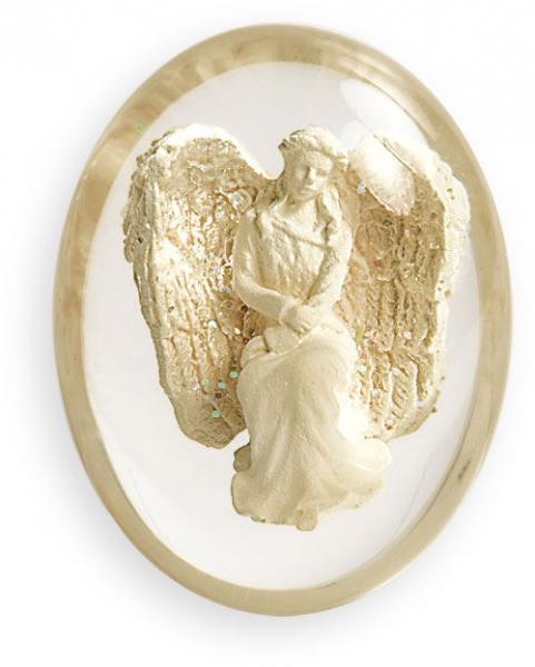 Courage Angel Worry Stone