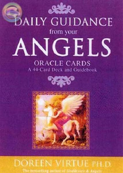 Daily Guidance From Your Angels Oraclet Set By Doreen Virtue