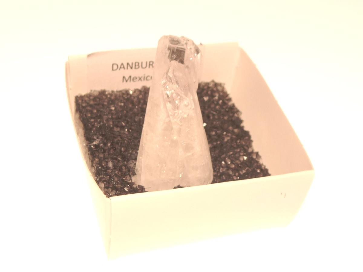 Danburite Gemstone Cluster Specimen 14