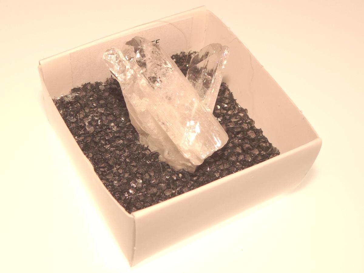 Danburite Gemstone Cluster Specimen 16