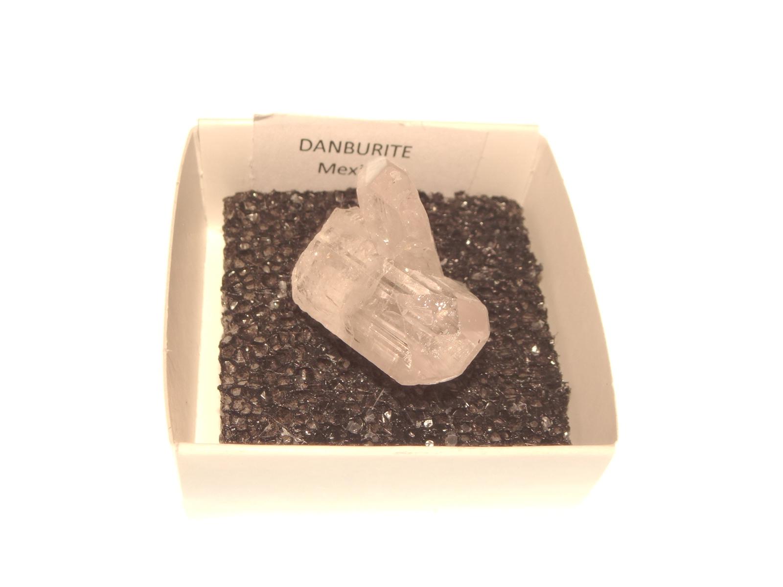Danburite Gemstone Cluster Specimen 2