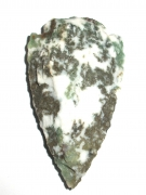 Denritic Agate Knapped Arrowhead