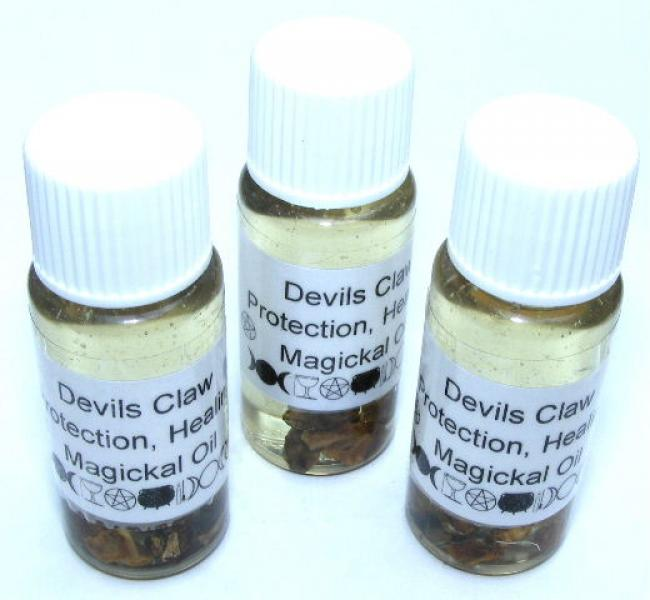 Devils Claw Magickal Oil Protection + Health
