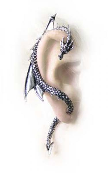 The Dragon's Lure Earring (Right ear fitting)