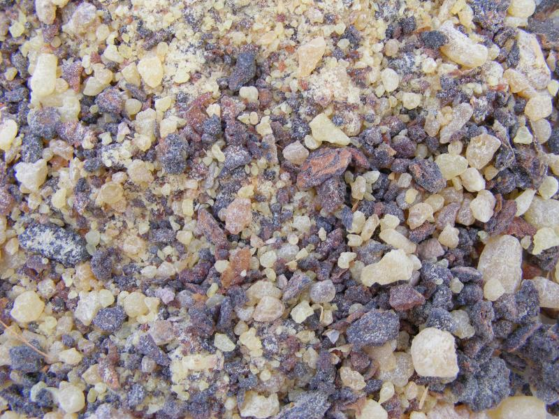 Frankincense And Myrrh Incense Granules