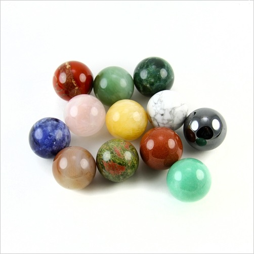 Gemstone Crystal Sphere 20mm - Various Types Available