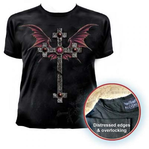 St George's Cross Mens Fitted T Shirt