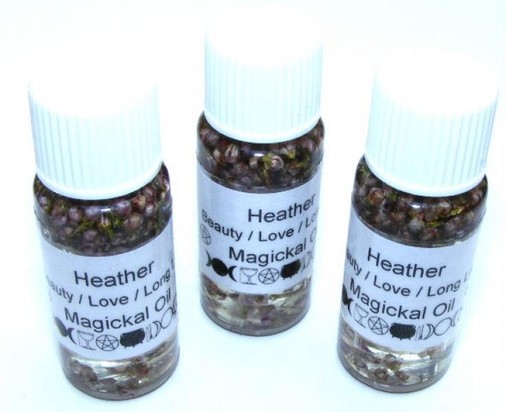 Heather Magickal Oil Beauty + Longevity