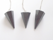 Hematite Facetted Crystal / Gemstone Dowser