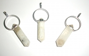 Indian Moonstone Double Terminated Gemstone Pendant
