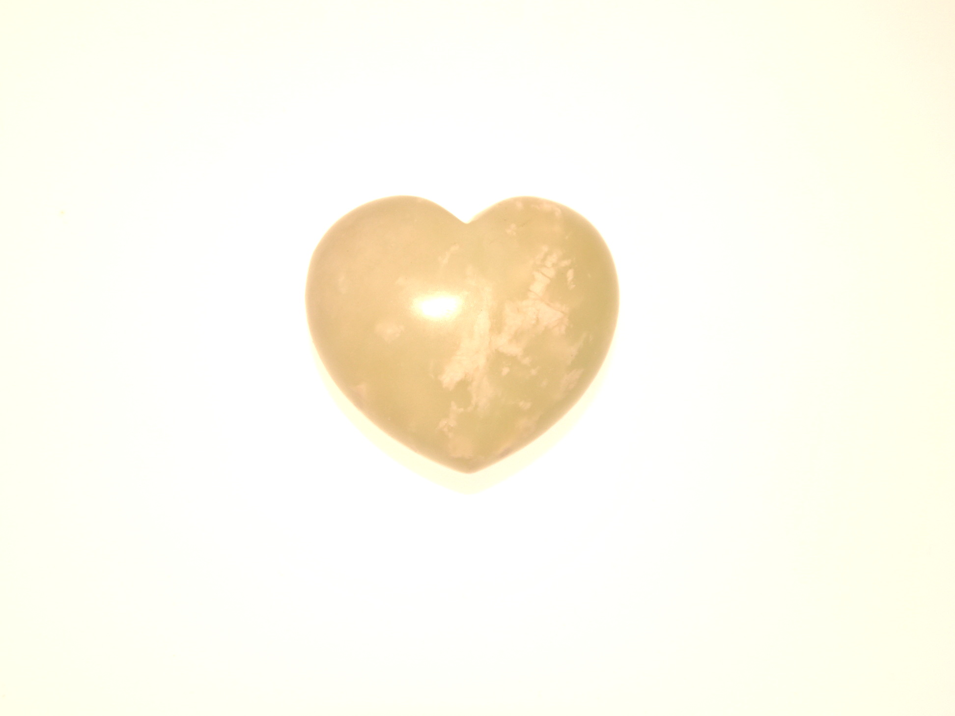 Jade Polished Gemstone Heart 1