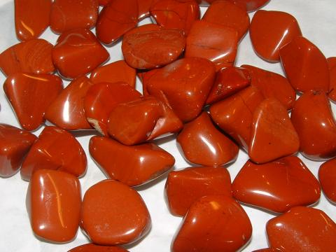 Jasper Tumbled Gemstone Crystals - Set Of 5