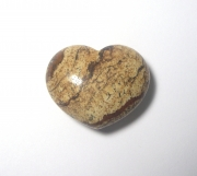 Kalahari Jasper Gemstone Crystal Heart