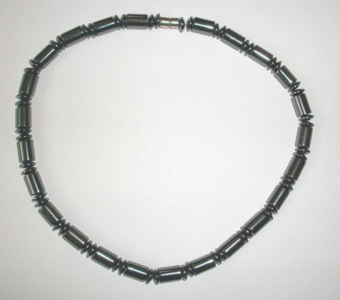 Chunky Magnetic Hematite Necklace