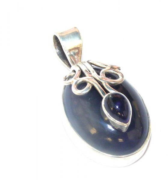 Amethyst Luxurious Pendant - Sterling Silver
