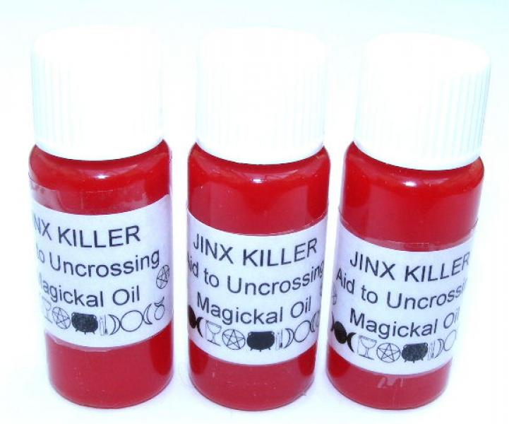 Jinx Killer Magickal Oil Aid To Uncrossing