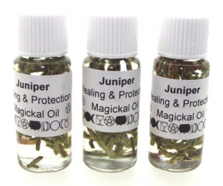 Juniper Herbal Infused Healing and Protect Magical Oil