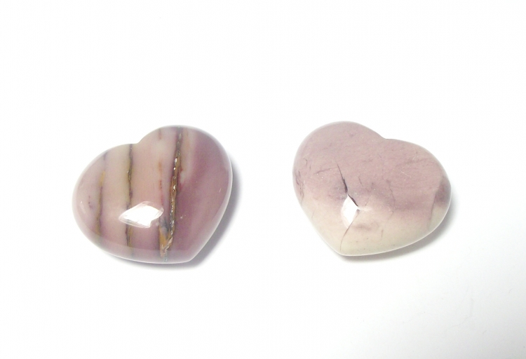 Mookite Polished Gemstone Crystal Heart - Type 2