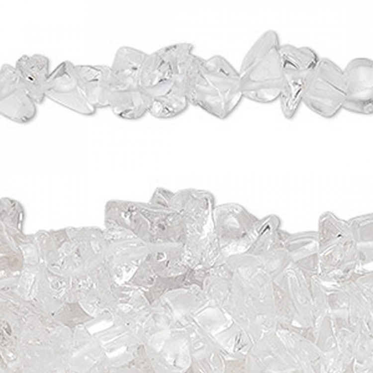 Quartz Choker Chip Necklace