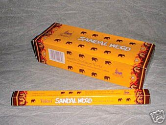 Sandalwood Tulasi Incense - 20 Sticks