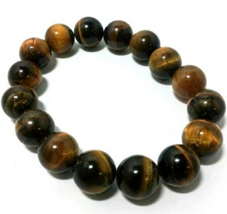 Tigers Eye Power Bracelet 12mm