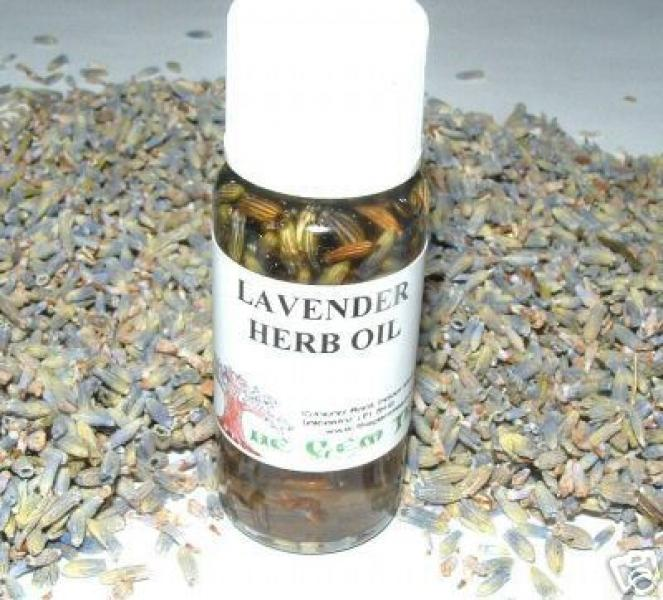 Lavender Oil + Herb Magickal Oil Made The Old Way