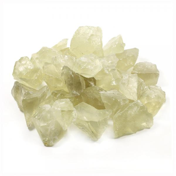 Lemon Quartz Unpolished Crystal / Gemstone