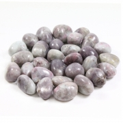 Lepidolite In Ruby Polished Gemstone