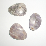 1 Inch to 2 Inch Lepidolite Polished Smooth Stone