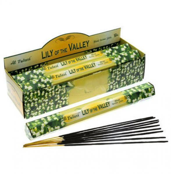 Lily Of The Valley Incense Sticks Full Box 120 Sticks - TULASI